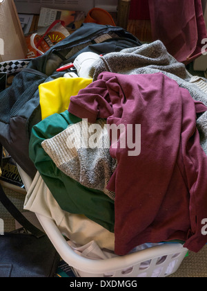 Messy Room, USA - Stock Photo