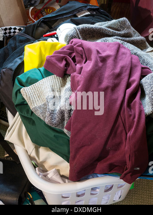 Hoarders' Messy Room, USA - Stock Photo