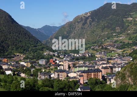 Andorra La Vella - Andorra - Stock Photo