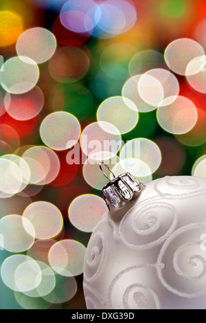 Bright Colorful Lights - Out of Focus Highlights - Stock Photo