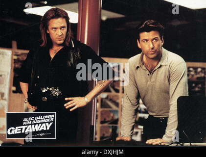 THE GETAWAY (US/JAP 1994) MICHAEL MADSEN, ALEC BALDWIN - Stock Photo