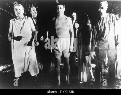 NIGHT OF THE LIVING DEAD - Stock Photo