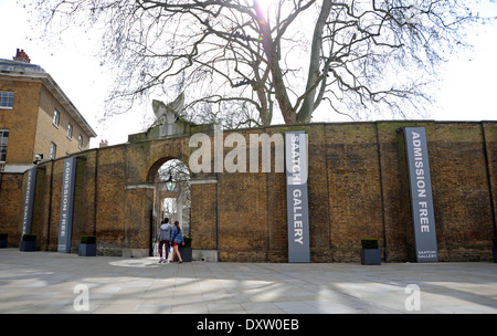 Saatchi Gallery at Duke of York's Headquarters Kings Road Chelsea London SW3 UK - Stock Photo