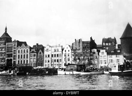 Danzig / Gdansk Poland probably 1930s - Stock Photo