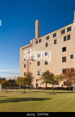 USA, Oklahoma, Oklahoma City, Oklahoma City National Memorial, museum building exterior - Stock Photo