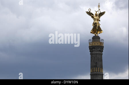 The Victory Colum in Berlin - Stock Photo