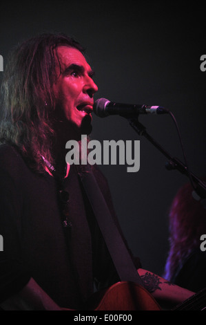 New Model Army at the Oxford O2 April 23rd 2014 as part of the UK leg of the tour for their twelfth studio album - Stock Photo