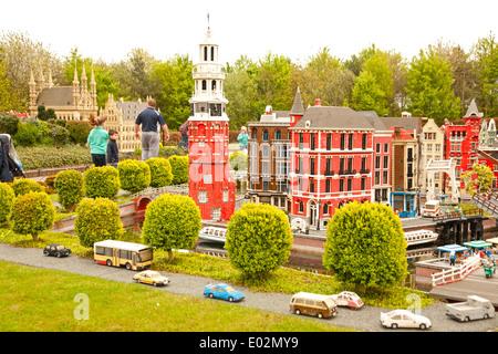 UK, Windsor, Legoland, a family leisure park, lego display. - Stock Photo