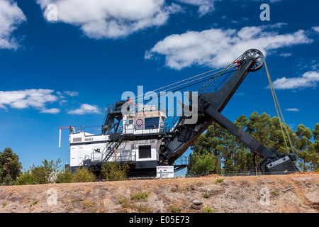Griffin open cast coal mine just outside of Collie Western Australia. - Stock Photo