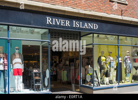 River Island clothing chain store, England, UK - Stock Photo