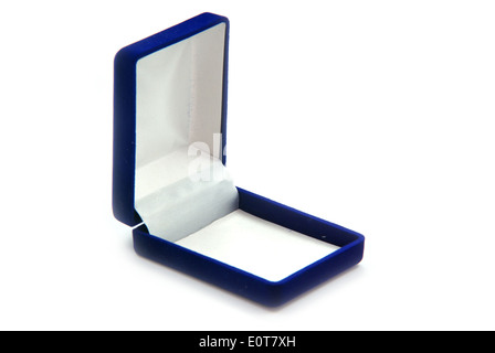 Emply gift box isolated on white background. - Stock Photo