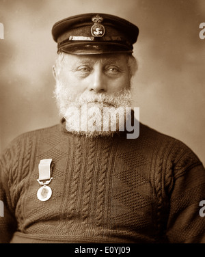 James Haylett Caister Lifeboat Disaster in 1901 - Stock Photo