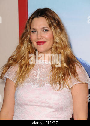 Los Angeles, California, USA. 21st May, 2014. DREW BARRYMORE attends the 'Blended' premiere held at the TCL Chinese - Stock Photo