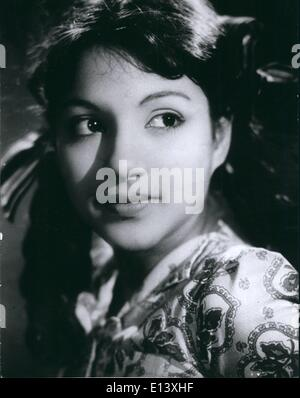 Mar. 27, 2012 - Stars Of India: Baby Naaz, the idol of millions of Indian film-goers was born in Bambay in 1944. - Stock Photo