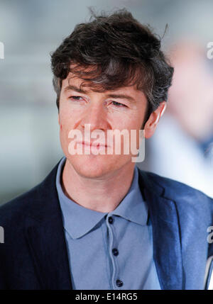 Cannes, France. 22nd May, 2014. Barry Ward Actor Jimmy's Hall. Photocall. 67 Th Cannes Film Festival Cannes, France - Stock Photo