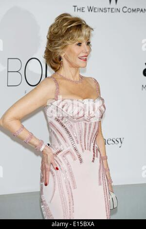 Cannes,, France. 22nd May, 2014. Stars to Gather in Cannes for amfAR's 21st Cinema Against Aids Gala.Cannes Film - Stock Photo