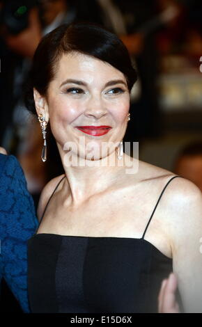 Cannes, France. 22nd May, 2014. CANNES, FRANCE - MAY 22: Anne Dorval attend the 'Mommy' premiere during the 67th - Stock Photo