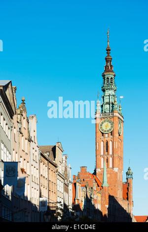 Europe, Poland, Gdansk, St Mary's Church - Stock Photo