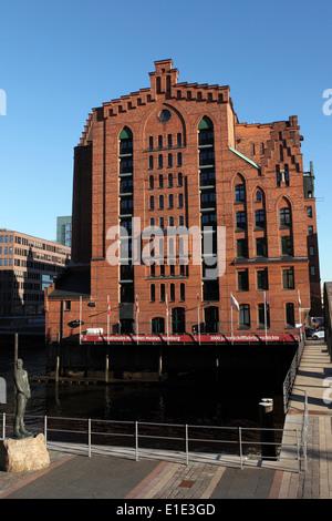 The International Maritime Museum HafenCity district in Hamburg, Germany. - Stock Photo