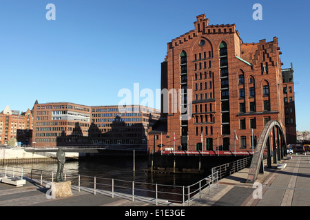 The International Maritime Museum in the HafenCity district of Hamburg, Germany. - Stock Photo