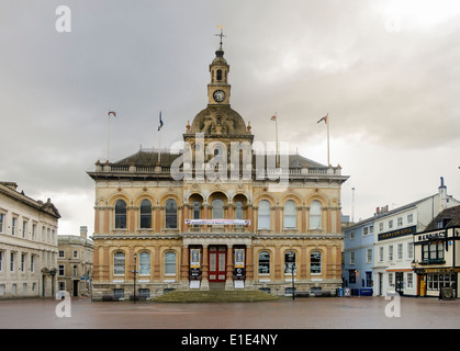 Ipswich Town Hall and square - Stock Photo