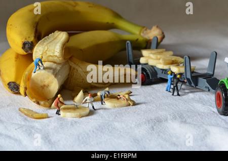 Banana mine - Stock Photo