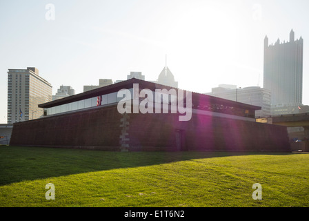 Fort Pitt museum in Pittsburgh PA - Stock Photo