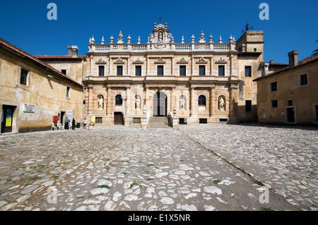 Certosa of San Lorenzo, Padula, Campania, Italy - Stock Photo