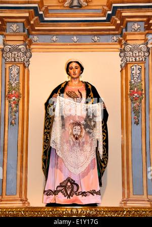 Colegiata de San Patricio Lorca Spain (  Semana Santa Holy Week Easter ) Procession Spain Spanish - Stock Photo