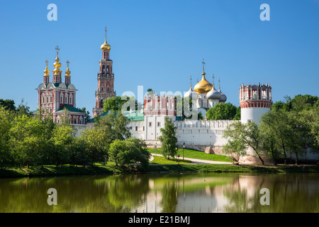 Russia, Moscow Oblast, Novodevichy Convent - Stock Photo