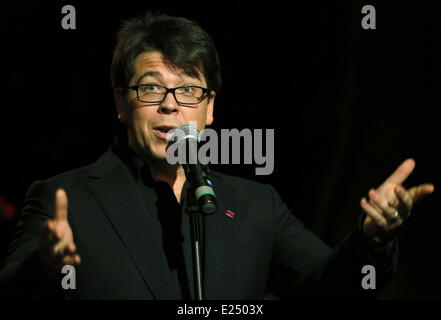 Prince's Trust 'Invest In Futures' Reception at a Central London hotel  Featuring: Michael McIntyre Where: London, - Stock Photo