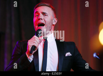 Prince's Trust 'Invest In Futures' Reception at a Central London hotel  Featuring: Gary Barlow Where: London, United - Stock Photo