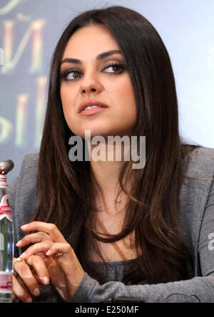 Oz the Great and Powerful' press conference  Featuring: Mila Kunis Where: Moscow, Russian Federation When: 27 Feb - Stock Photo