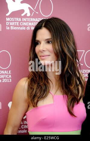 70th Venice International Film Festival - 'Gravity' - Photocall  Featuring: Sandra Bullock Where: Venice, Italy - Stock Photo