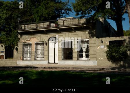 Houses in Colonia del Sacramento, Uruguay. UNESCO world heritage site. - Stock Photo