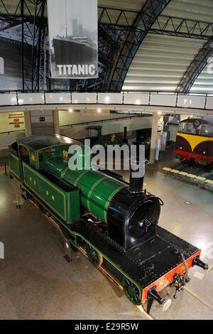 United Kingdom, Northern Ireland, Cultra near Belfast, Ulster Folk and Transport Museum - Stock Photo