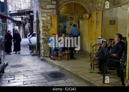 Israel, Jerusalem, holy city, the old town listed as World Heritage by UNESCO - Stock Photo