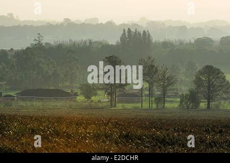 Swaziland Manzini district Malkerns valley - Stock Photo