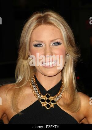 Premiere Of Relativity Media's 'Safe Haven' held at TCL Chinese Theatre - Red Carpet  Featuring: Gretchen Rossi - Stock Photo