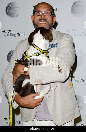 Dogs Trust Honours held at Home House - Arrivals  Featuring: Bruce Oldfield Where: London, United Kingdom When: - Stock Photo