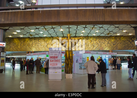 NKD, the National Palace of Culture (1981), central Sofia, Bulgaria, Europe - Stock Photo
