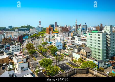 Wakayama City, Wakayama, Japan cityscape. - Stock Photo