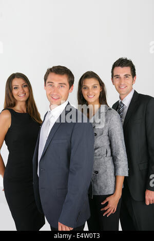 Dynamic business people - Stock Photo