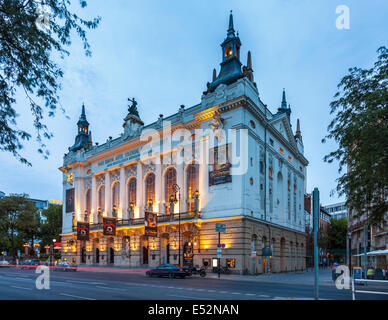 The Famous Theater Des Westens in Kantsrasse,Berlin,Charlottenburg,Germany - Stock Photo