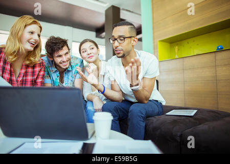 People working together in office - Stock Photo