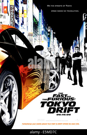 THE FAST AND THE FURIOUS: TOKYO DRIFT, Bow Wow, Sung Kang, Brian Tee, Nathalie Kelley, Lucas Black, 2006. ©Universal/courtesy - Stock Photo