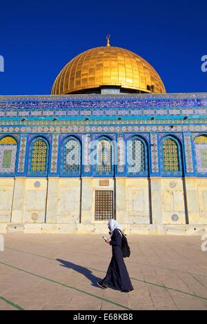 Temple Mount, Jerusalem, Israel, Middle East - Stock Photo