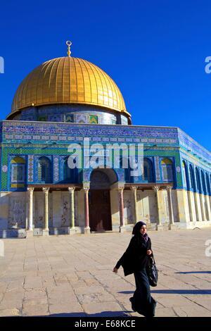 Temple Mount, Jerusalem, Israel, Middle East, - Stock Photo