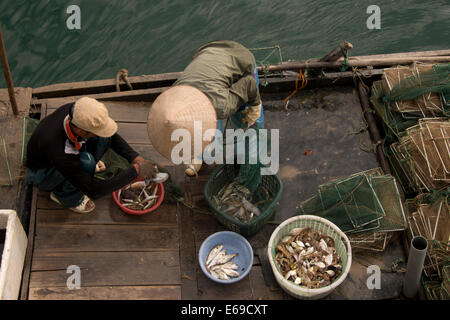 Fishing boat, Vietnam - Stock Photo