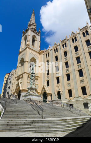 Church of the Holy Heart of Jesus in Santander, Cantabria, Spain. - Stock Photo